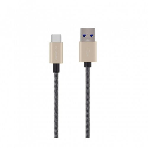 First Cham Type-C to USB Cable 1M Gold