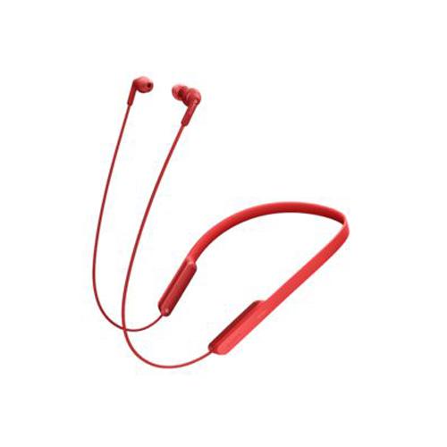 SONY 掛頸式藍牙耳機 紅 MDR-XB70BTRZE