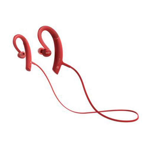 SONY 掛耳式藍牙耳機 紅 MDR-XB80BSRZE