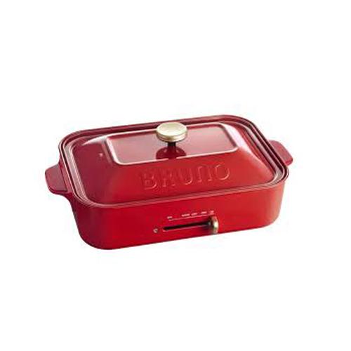BRUNO 多功能電熱盤 BOE021R紅色