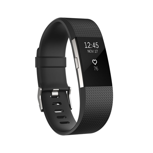 Fitbit Charge 2 Black Sliver