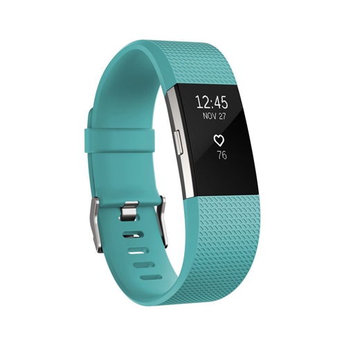 Fitbit Charge 2 Teal Sliver