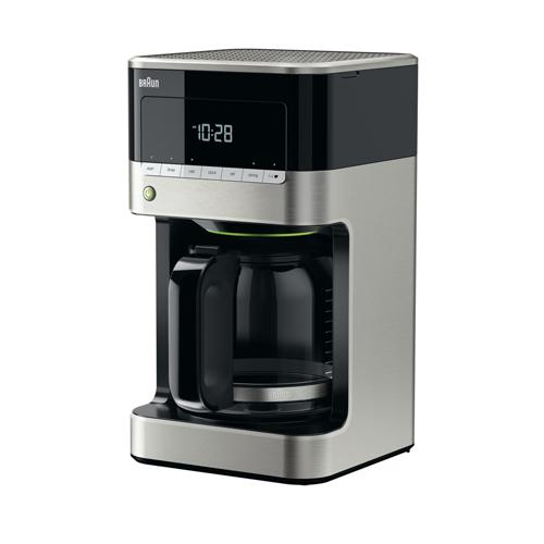 BRAUN 咖啡機 KF7120 鋼黑