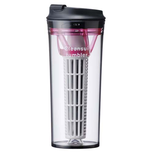 MITSUBISHI 水壺型濾水器 TM804 粉色