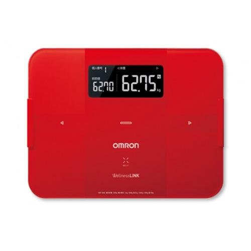 OMRON 脂肪分析磅 HBF-254C紅