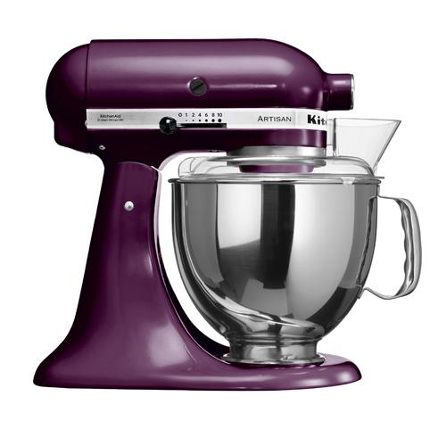 KITCHEN A 4.8L多功能食物處理器 5KSM150PSBBY 紫色