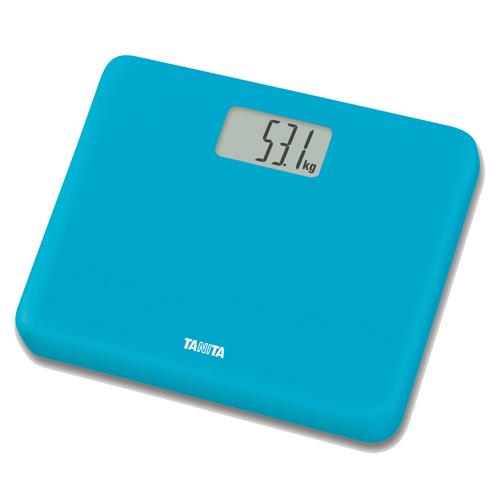 TANITA 輕巧電子體重磅 HD660藍