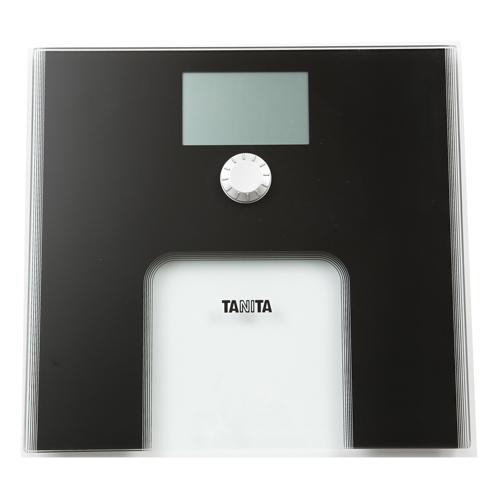 TANITA 輕巧電子體重磅 HD383黑
