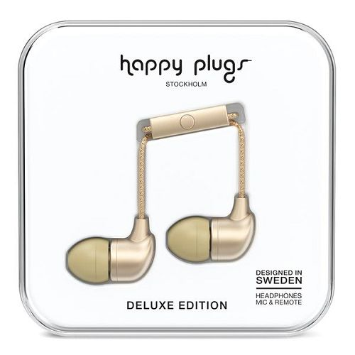 HappyPlugs In-Earphone Champagne