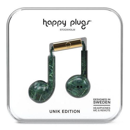 HappyPlugs Earbud Plus Green Marble