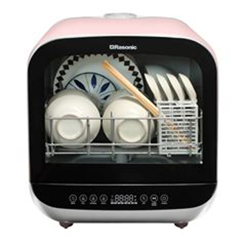 RASONIC 儲水式洗碗機 RDW-J5P-粉紅色