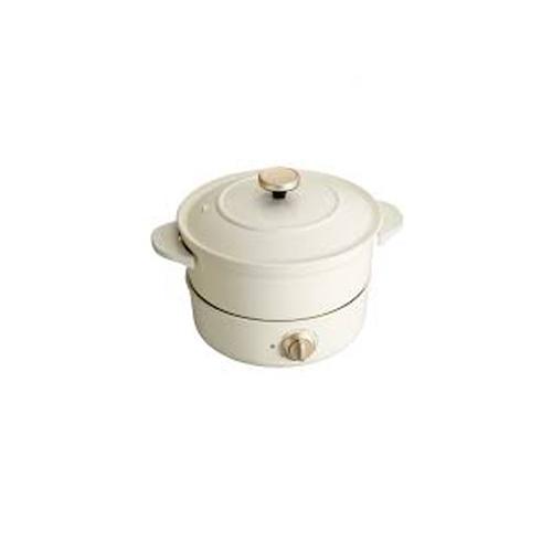BRUNO 多功能炆煮鍋Grill Pot BOE029-WH白