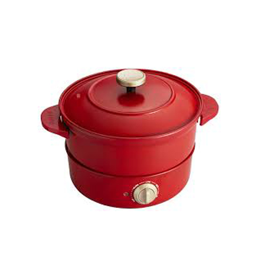BRUNO 多功能炆煮鍋Grill Pot BOE029-RD紅