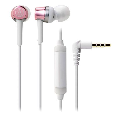audio-tech Mobile In-Earphone 粉紅 ATH-CKR30iS PK