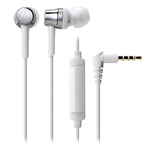 audio-tech Mobile In-Earphone 銀 ATH-CKR30iS SV