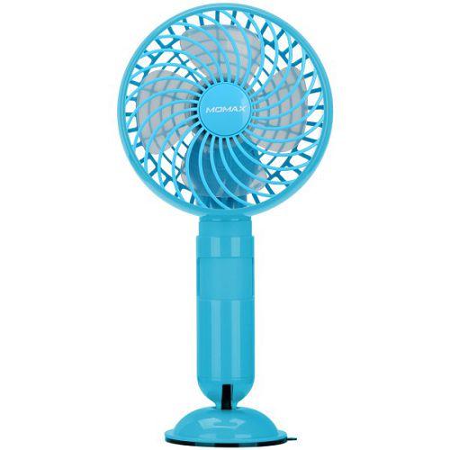 MOMAX iPower iFan 2in1 便攜充電器+風扇 2500mAh 藍