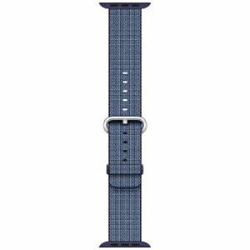 APPLE 42mm Midnight Blue Woven Nylon