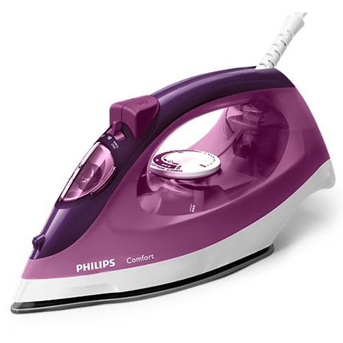 PHILIPS 蒸氣熨斗 GC1438-紫紅色