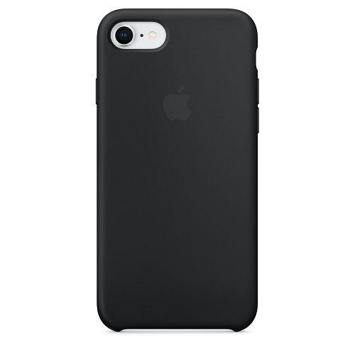 APPLE iPhone 8/7 Silicone Case Black