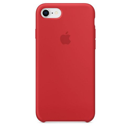 APPLE iPhone 8/7 Silicone Case Product Red