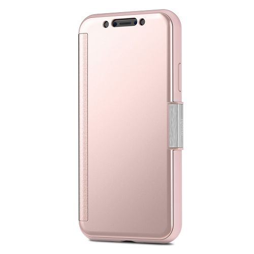 moshi StealthCover for iPhone XS/X Champagne Pink