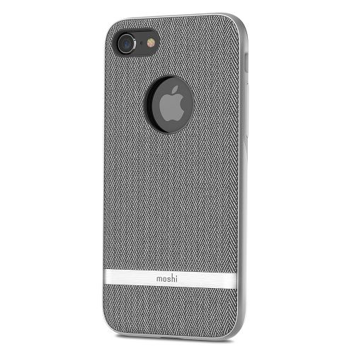 moshi Vesta for iPhone 8/7 Herringbone Gray