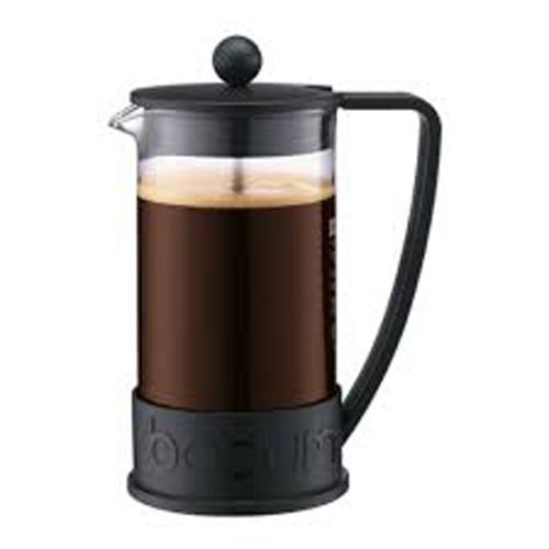BODUM 1.0L擠壓式咖啡壺 10938-01 黑