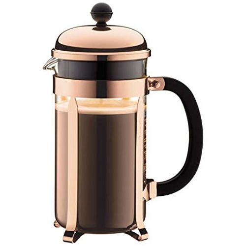BODUM 1.0L擠壓式咖啡壺 1928-18 銅