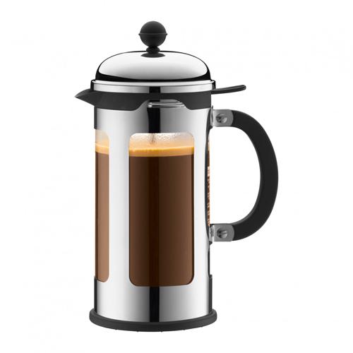 BODUM 1.0L擠壓式咖啡壺 11172-16 銀