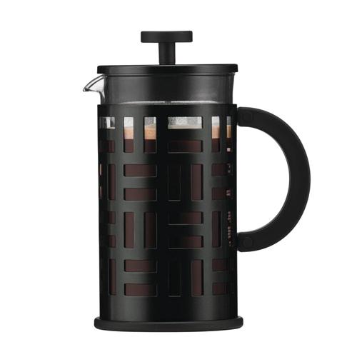 BODUM 1.0L擠壓式咖啡壺 11195-01 黑