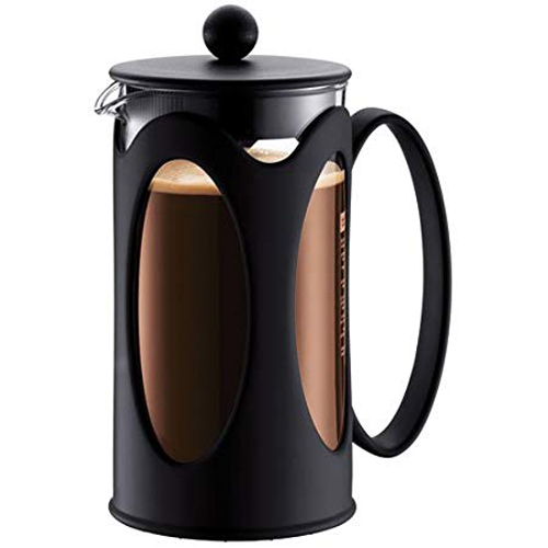 BODUM 1.0L擠壓式咖啡壺 10685-01 黑