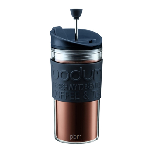 BODUM 0.35L擠壓式咖啡壺 11102-01S 黑
