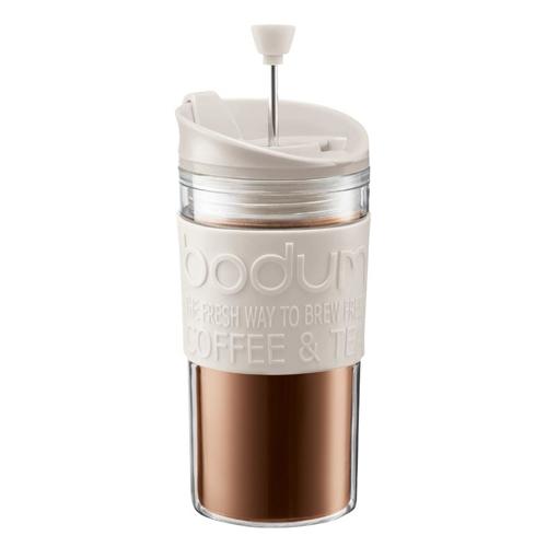 BODUM 0.35L擠壓式咖啡壺 11102-913 米白