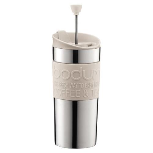 BODUM 0.35L擠壓式咖啡壺 11067-913 米白