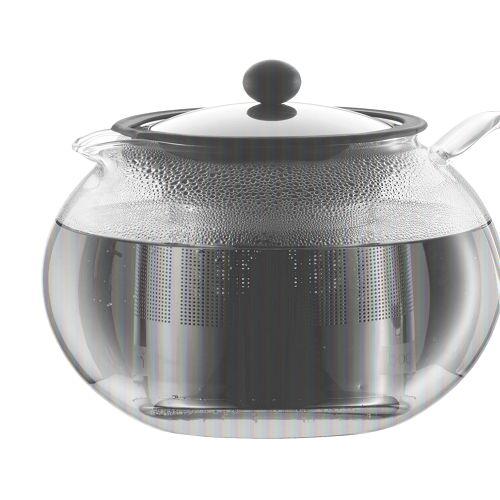 BODUM 1.0L茶壺 1801-16 銀
