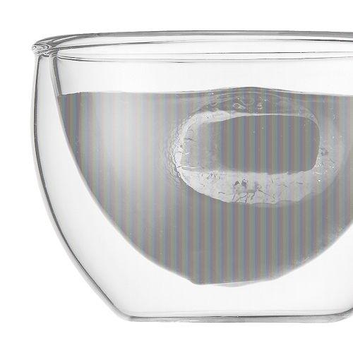 BODUM 0.08L雙層玻璃杯 4557-10 兩隻裝