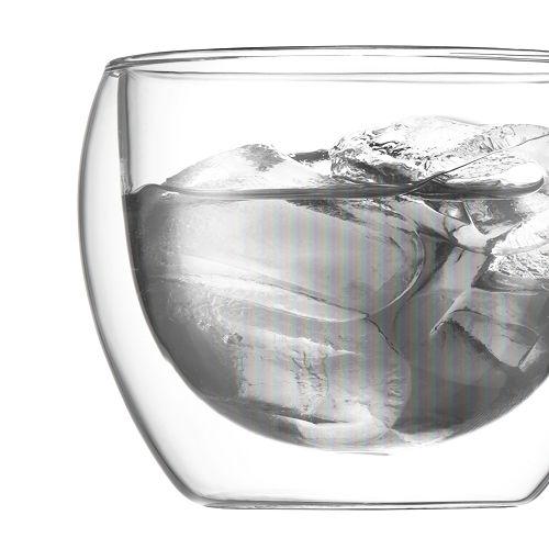 BODUM 0.25L雙層玻璃杯 4558-10 兩隻裝