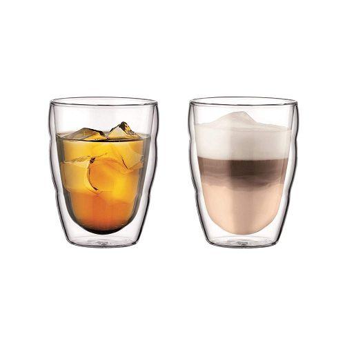BODUM 0.25L雙層玻璃杯 10484-10 兩隻裝