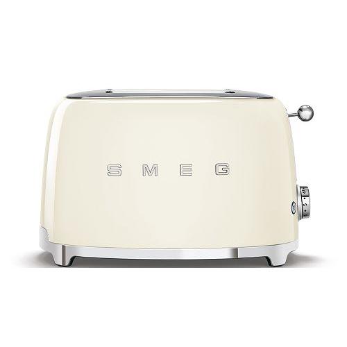 SMEG 兩片式多士爐 TSF01CRUK 奶白