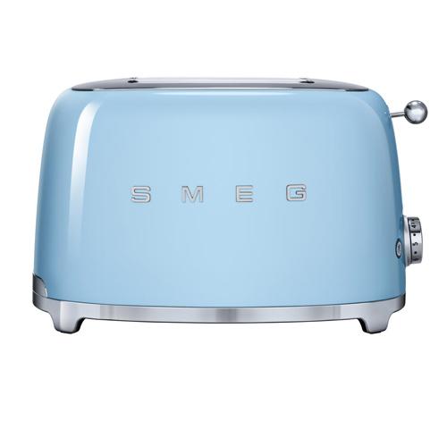 SMEG 兩片式多士爐 TSF01PBUK 藍