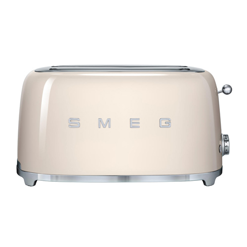 SMEG 四片式多士爐 TSF02CRUK 奶白