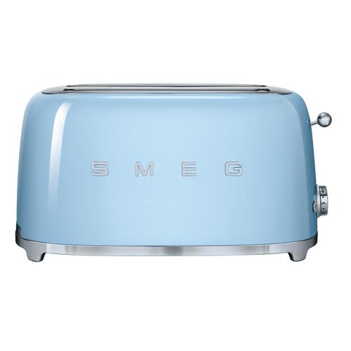 SMEG 四片式多士爐 TSF02PBUK 藍