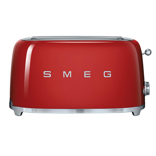 SMEG 四片式多士爐 TSF02RDUK 紅