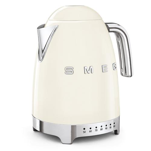 SMEG 1.7L溫度控制電熱水壺 KLF04CRUK 奶白