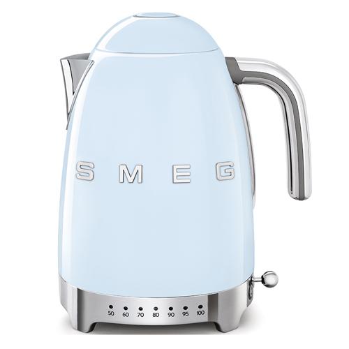 SMEG 1.7L溫度控制電熱水壺 KLF04PBUK 藍
