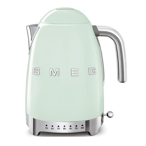 SMEG 1.7L溫度控制電熱水壺 KLF04PGUK 綠