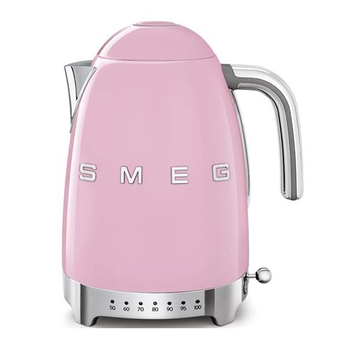 SMEG 1.7L溫度控制電熱水壺 KLF04PKUK 粉