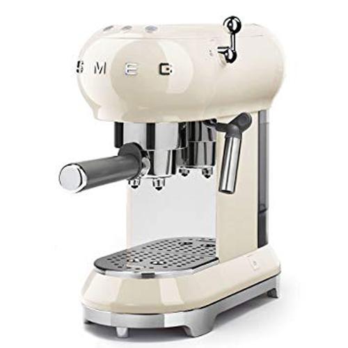 SMEG 咖啡機 ECF01CRUK 奶白