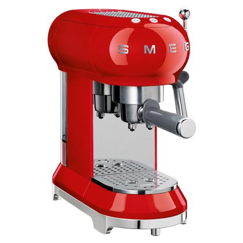 SMEG 咖啡機 ECF01RDUK 紅