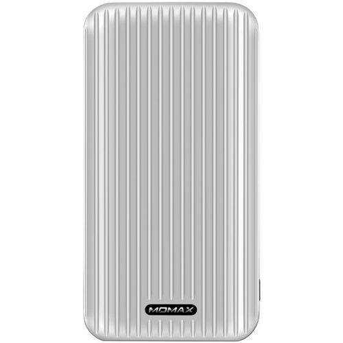 MOMAX iPower Go Silm 10000mAh 流動電源 銀